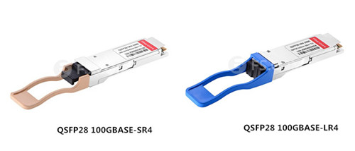QSFP28 optical transceivers