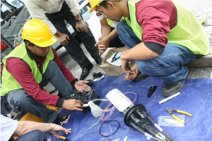 Fiber-Optic-Splicing