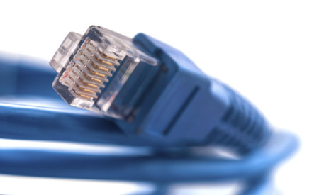 blue-rj45-copper-cable