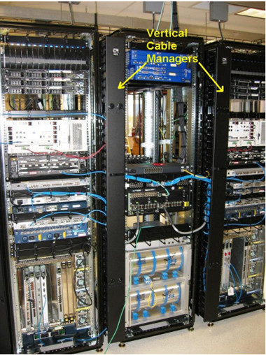 vertical cable manager