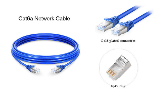 Figure 3: Cat6a Cable