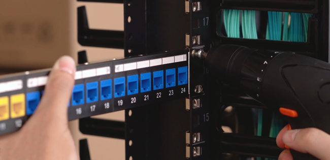 Installing Rack Mount Patch Panel