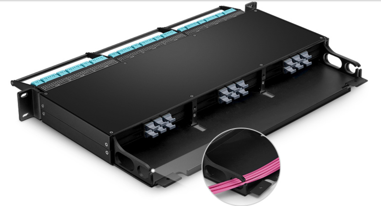 altComparison of FS 1U Rack Mount Fiber Enclosure FHZ Series Fiber Enclosure