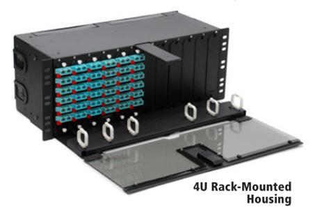 Rack-mount housing