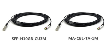 Cisco 10G SFP+ passive copper cables - Fiber Optic Cables