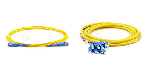 SC single-mode optic patch cable and SC fiber optic pigtail