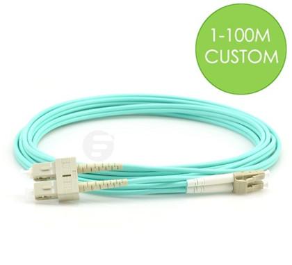 LC-SC fiber patch cable