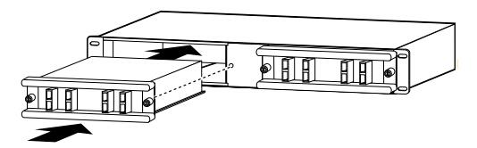 installing-CWDM-MuxDemux-modules