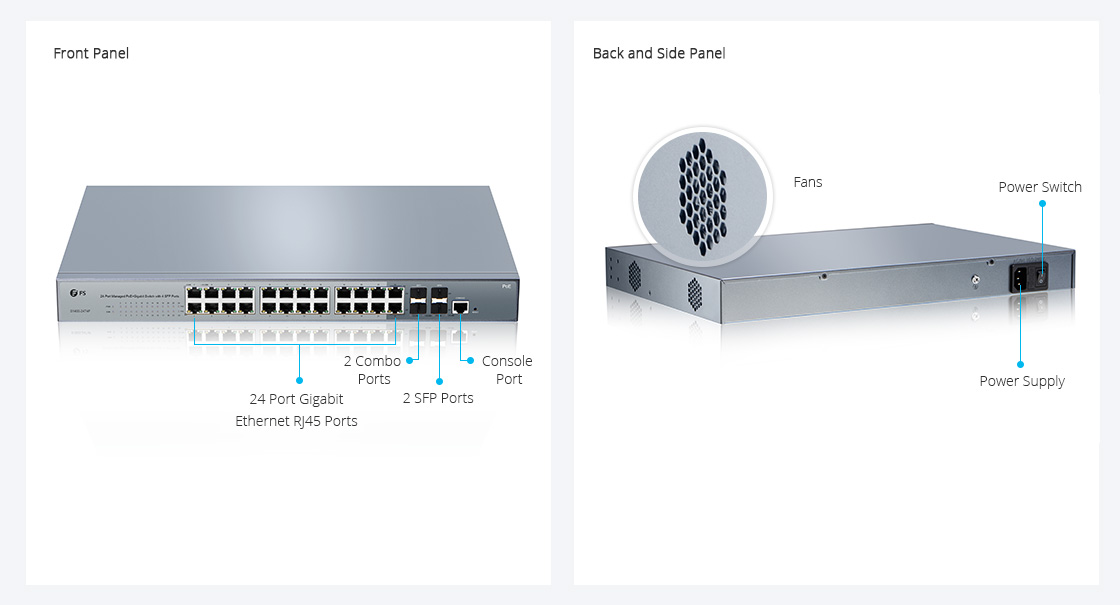 overview of PoE managed switch